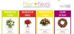 Mise à jour du site fleuretfleurs.fr