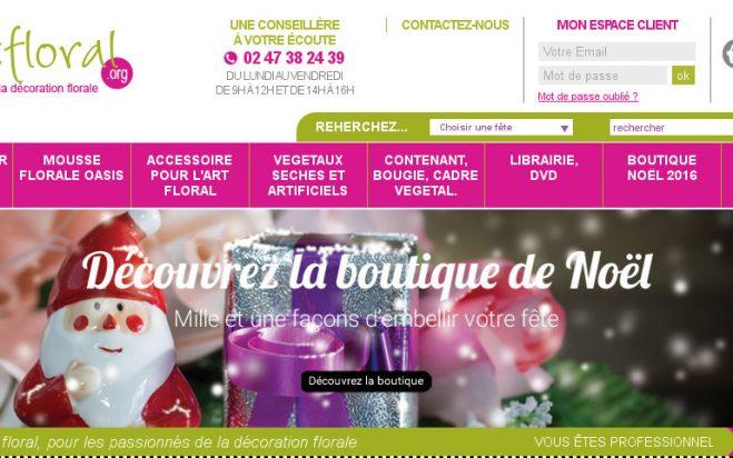 Refonte du site internet www.artfloral.org