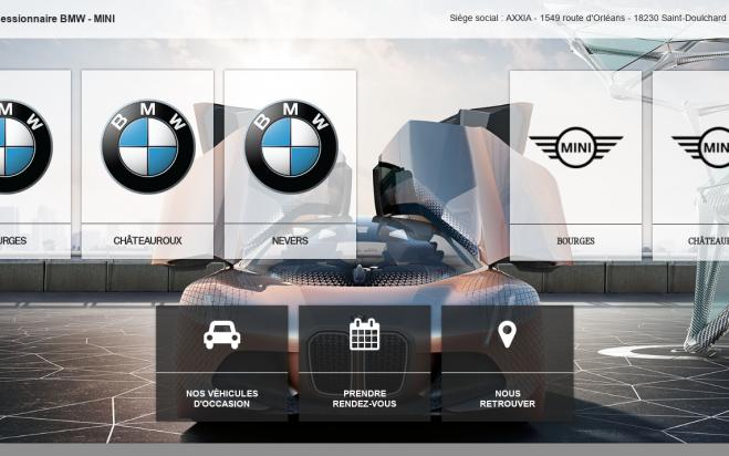 Renouvellement du site internet BMW / MINI
