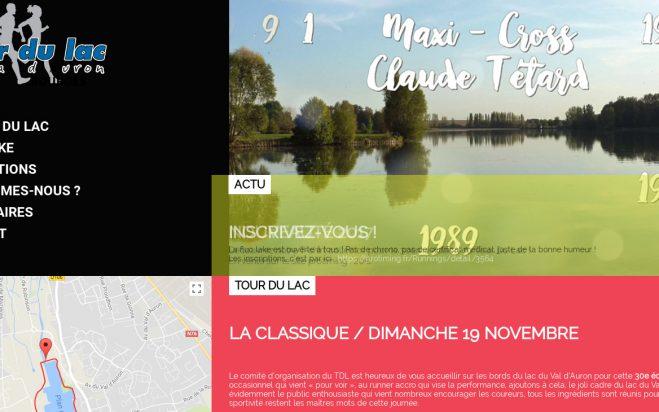 Site dédié au Tour du Lac à Bourges