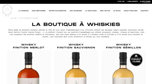 Whisky Français A. Roborel de Climens