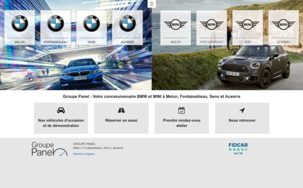 BMW Groupe Panel
